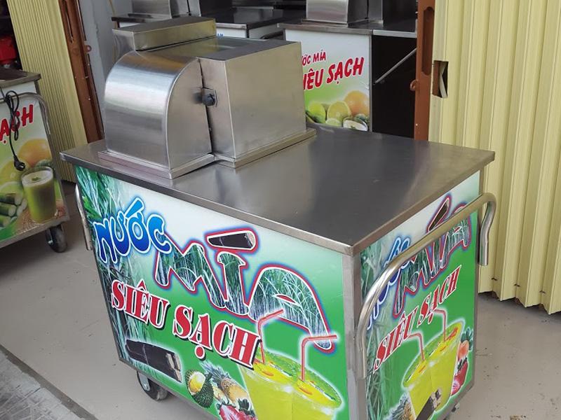 Máy ép mía siêu sạch tại Thanh Hóa
